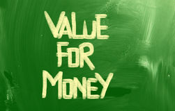 Value For Money Concept Royalty Free Stock Photos