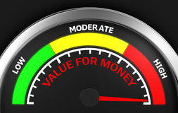 Value for money Royalty Free Stock Photography