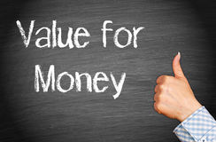 Value for money Royalty Free Stock Image