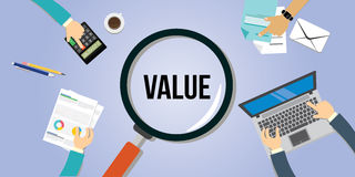 Value proposition customer concept Royalty Free Stock Images
