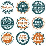 Value stamps Stock Photo