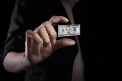Value of the US dollar falling Stock Photos