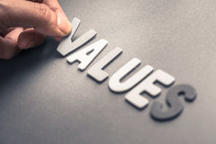 Values Stock Images