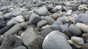 Valugan boulder beach. In Batanes, Philippines Stock Photography