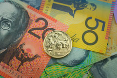 Valuta australiana Immagine Stock