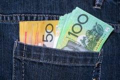 Valuta australiana fotografie stock libere da diritti