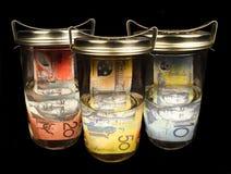 Valuta australiana immagine stock