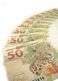 Valuta brasiliana Immagini Stock