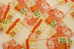 Valuta brasiliana 20 Immagine Stock Libera da Diritti