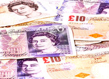 Valuta BRITANNICA Fotografia Stock Libera da Diritti