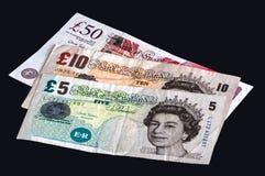 Valuta britannica Immagine Stock Libera da Diritti