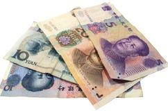 Valuta cinese Fotografie Stock