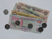Valuta dai UAE fotografia stock