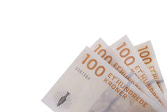 Valuta danese fotografia stock