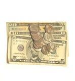 Valuta degli Stati Uniti immagine stock