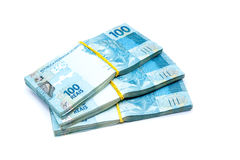 Valuta del Brasile Fotografie Stock Libere da Diritti