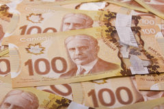 Valuta del Canada Immagini Stock Libere da Diritti