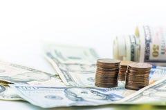 Valuta del dollaro americano Fotografia Stock Libera da Diritti