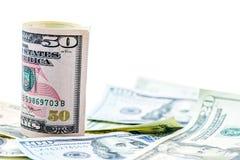 Valuta del dollaro americano Fotografie Stock