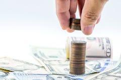 Valuta del dollaro americano immagine stock