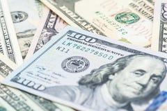 Valuta del dollaro americano Immagini Stock