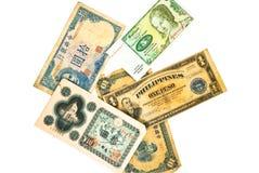 Valuta del mondo/vecchio Fotografia Stock Libera da Diritti