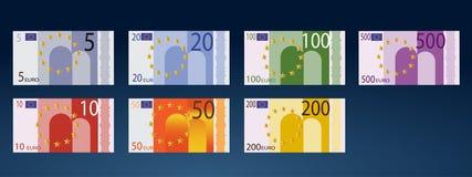 Valuta dell'Europa Immagini Stock Libere da Diritti