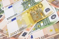Valuta dell'Unione Europea Immagini Stock