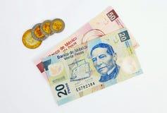 Valuta dell'Uruguay Fotografie Stock
