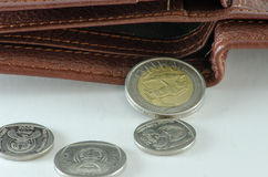 valuta della Sudafrica fotografia stock libera da diritti