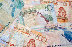 Valuta delle Seychelles immagine stock libera da diritti