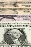 Valuta di carta degli Stati Uniti Immagini Stock