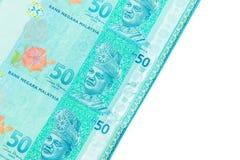 Valuta di ringgit, Malesia Fotografia Stock