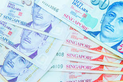 Valuta di Singapore del dollaro Fotografia Stock