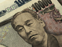 Valuta di Yen giapponesi Fotografie Stock Libere da Diritti