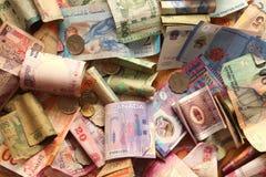 Valuta differente Immagini Stock