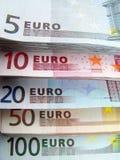 Valuta europea Immagine Stock Libera da Diritti