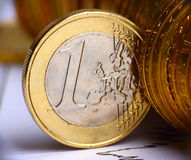Valuta europea Immagini Stock