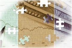 valuta för 4k Jamaica - begrepp för bankrörelsen och för ekonomisk stabilitet Royaltyfri Bild
