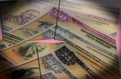 valuta för 4k Jamaica - begrepp för bankrörelsen och för ekonomisk stabilitet Royaltyfria Bilder
