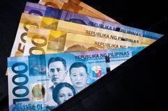 Valuta filippina Fotografia Stock Libera da Diritti