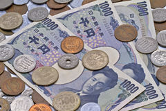 Valuta giapponese Immagine Stock Libera da Diritti