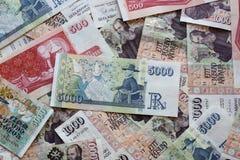 Valuta islandese Immagine Stock Libera da Diritti