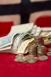 Valuta nazionale norvegese Fotografia Stock