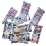 valuta olika uae Arkivbilder