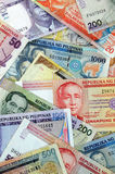 valuta philippines arkivfoton