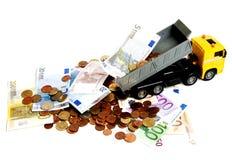 Valuta sob a pressão Fotos de Stock