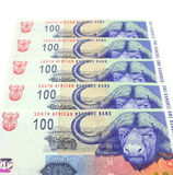 Valuta sudafricana Fotografia Stock