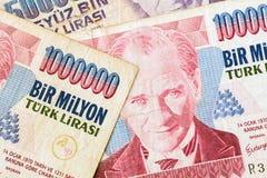 Valuta turca Fotografie Stock