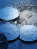 valuta uk Arkivfoton
